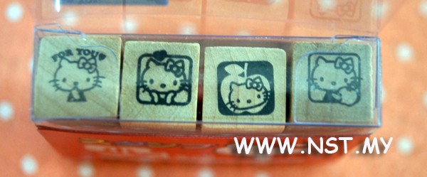 Hello kitty stamper small